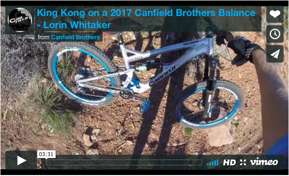 King Kong on a trail bike | Canfield Brothers Balance